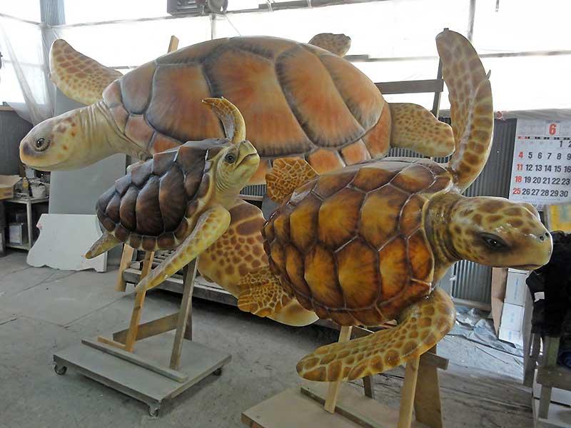 アカウミガメの企画展用看板4