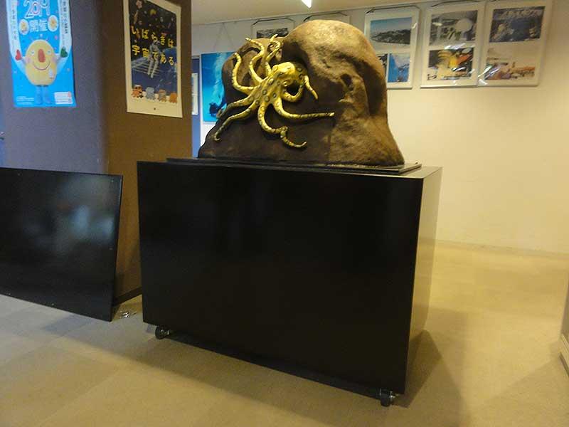 ヒョウモンダコの展示模型3