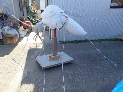 ヒトスジシマカの巨大模型6