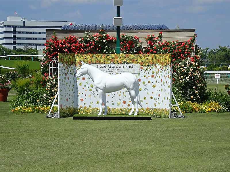 サラブレッド馬の立体造形1