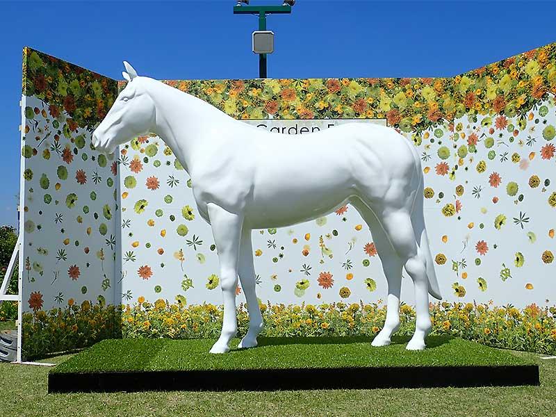サラブレッド馬の立体造形3