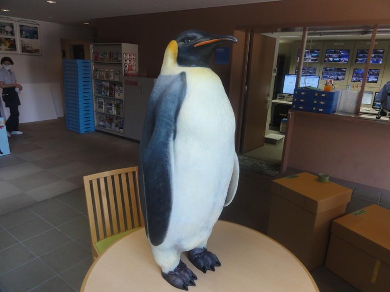 皇帝ペンギンの立体造形