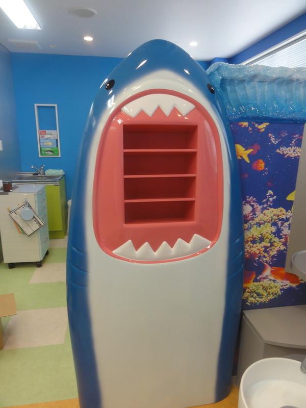 サメのパーテーション2