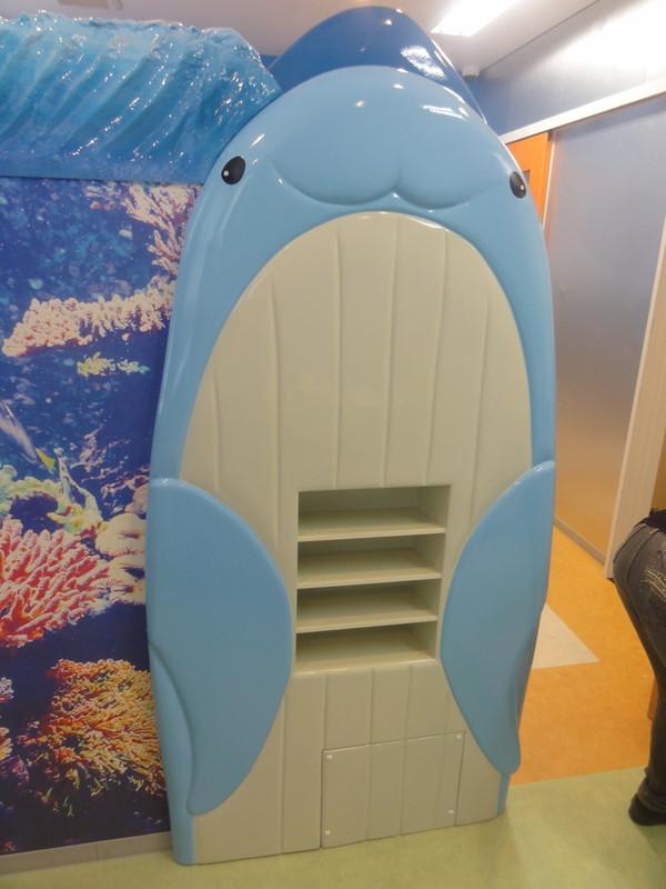 クジラのパーテーション1