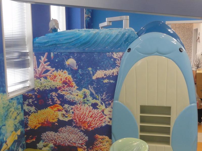 クジラのパーテーション2