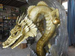 龍の立体造形1