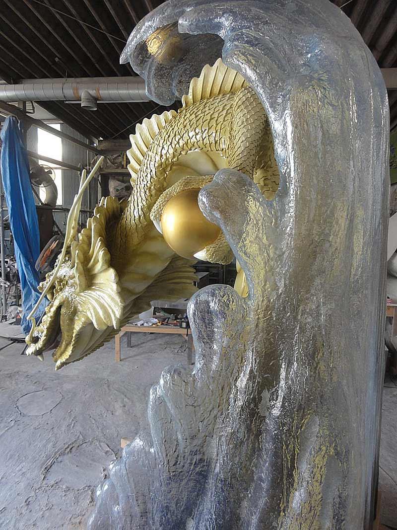 龍の立体造形2