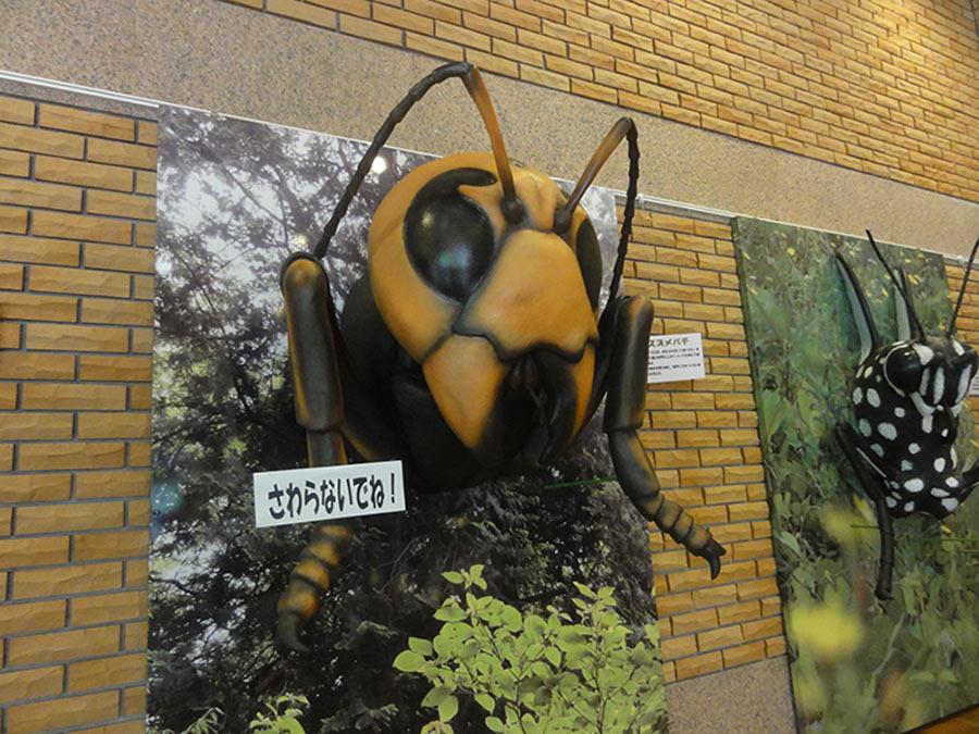 スズメバチの立体造形