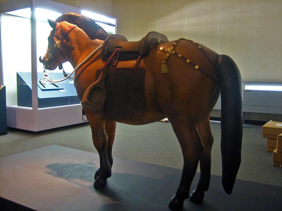 古代馬の立体造形