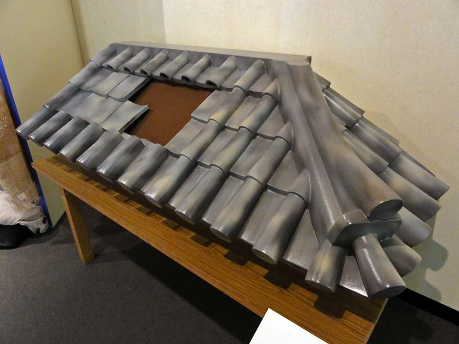 立体瓦屋根のパズル
